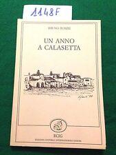 Bruno ROMBI  -  UN ANNO A CALASETTA  -  ECIG  -  1988