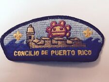 BSA PUERTO RICO COUNCIL PATCH VINTAGE-FREE SHIPPING