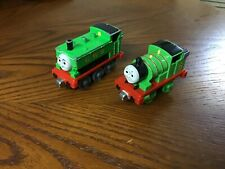 2002 PERCY & DUCK Thomas & Friends Diecast Engines! Learning Curve Excellent!