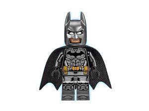 New Lego Batman Minifigure Figure Set 76112 pearl dark Grey armor Hard To Find