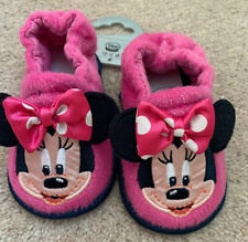 Disney Store Minnie Mouse Slippers New Size Uk 4