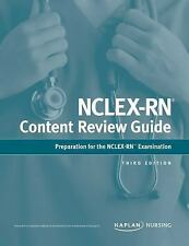 Kaplan Test Prep: Nclex-Rn Content Review Guide : Preparation for the.