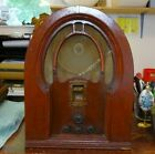 PHILCO ANTIQUE CATHEDRAL RADIO CHASSIS 19 CODE 126 UNTESTED FOR PARTS OR REPAIR