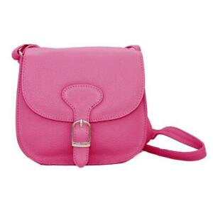 Simply Unearthed Real Leather handbag (Fuchsia)