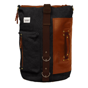 ANVÄNDA LEATHER BAG With USB - Backpack- Size: Large