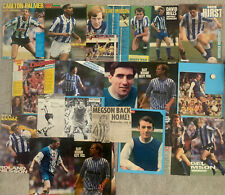 More details for 21 x sheffield wednesday signed magazine pictures (mainly a4)