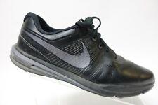 NIKE Lunar Comand Black Sz 11 W Wide Men Golf Shoes