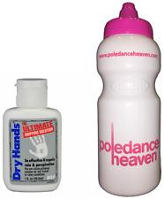 Les mains sèches 1oz + pole dance sport boissons bouteille 500ml x