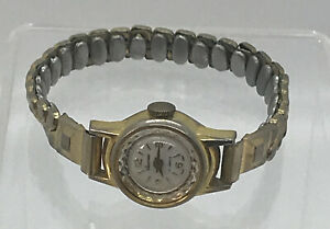 Lucerne Swiss Gold Tone Bracelet Ladies Watch For Repairs