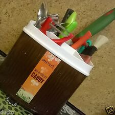 MULTI UTILITY CADDY for Kitchen Home Office   For Spoons, Forks, Brushes, Paste
