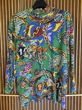 Vintage KENZO Jungle long sleeved cotton top