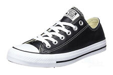 1f789cfef4e2 Converse Low Tops Black White OX Leather Mens Sneakers Tennis Shoes 132174C