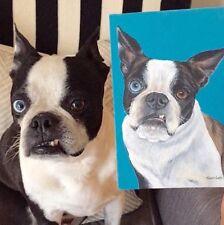 Life Like 8x10 Custom Pet Painting Commission Any Animal Artist Sharon Lamb