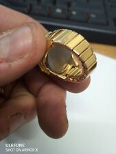 Dire pierra  17 jewels  Ladies gold ring Watch Swiss made