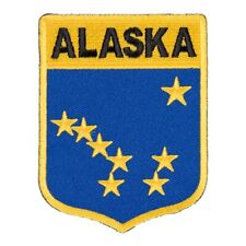 Alaska State Flag Shield Patch, United States of America Patches