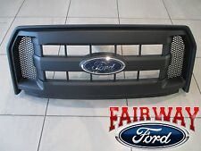 15 thru 17 F-150 OEM Genuine Ford Molded Carbon Black Grille Grill w/ Emblem NEW