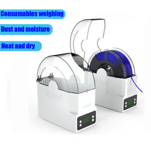 eSUN 3D Printer Filament Holder Dryer Box Drying Filaments Storage Spool Holder