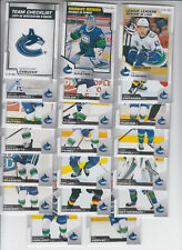 20/21 OPC Vancouver Canucks Team Set w/RC + Inserts - Pettersson DiPietro RC +