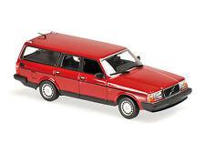 1:43 MINICHAMPS   VOLVO 240 GL BREAK 1986   RED  940171410- MAXICHAMPS