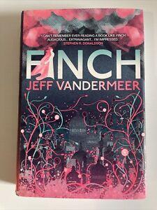 Finch by Jeff Vandermeer Hardback Dust Jacket 1st UK Edition 2010 Ex Library