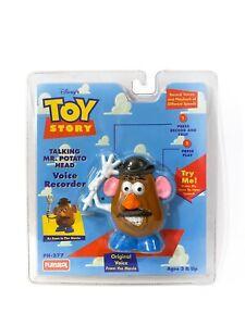 Playskool 1996 Toy Story Talking Mr. Potato Head Voice Recorder NISP VHTF