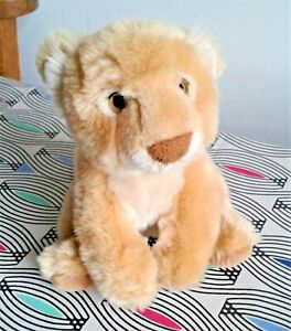 "Cuddly Soft Lion Cub 7"" Keel Soft Toy Plush Beanie Comforter EXC"