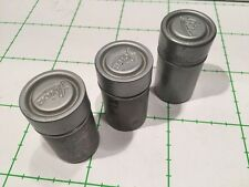 LEICA LEITZ METAL CASE FOR FILM CANISTER, ONE WITH FILM REF: CK8581