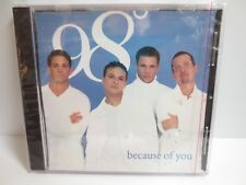 98 DEGREES ~ BECAUSE OF YOU ~2-SONG SINGLE CD ~ NEW CD