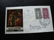 AUTRICHE - enveloppe 1er jour 28/1/1969 (cy17) austria