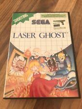 Master System:    LASER GHOST    en boite      PAL EUR