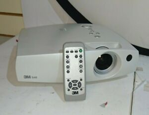 3M S40 SVGA Portable Projector 1400 Lumens - With Remote