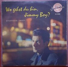 WILLY SCHMID - Jimmy Boy / Sweety -  MEGA RARE Near Mint !!!