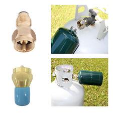 Outdoor Camping Propane Refill Adapter Gas Cylinder Tank Coupler NN
