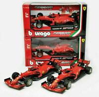 NEW FERRARI F1 LECLERC VETTEL RAIKKONEN 1:43 Model Car Formula One Toy Die Cast