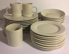 Dining In Classic White 4240 China Restaurant Quality Dishes Plates Cups Bowls