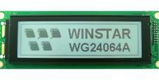 LCD Graphic Display Module, 240x64, Yellow / Green - WINSTAR