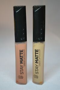 U PICK RIMMEL Stay MATTE Liquid LIP Color 710 LATTE To Go OR 700 Be My BABY