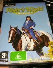 Rider's World - I Want To Ride PC GAME - FREE POST