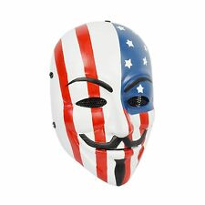 Paintball Airsoft Full Face Protection V for Vendetta Mask PROP Cosplay A52E