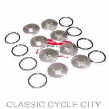 Honda CB 500 four k0 k1 k2 bouchons de valve set joints toriques valve tappet Cap Gasket Kit