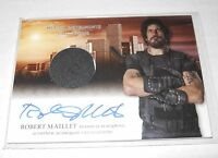 Mortal Instruments Autograph Costume Trading Card #AW-RMI Robert Maillet