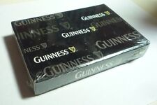 Malaysia 2 Pack Playing Cards Guinness Stout Black White Sealed 2010 Box
