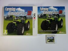 Farming Simulator 2012 3D - Nintendo 3DS Game - 2DS, XL, 12 - Free, Fast P&P!