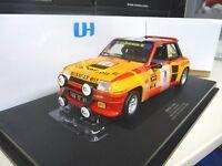 1:18 UH Renault 5 Turbo Ragnotti Winner France 1980 Universal Hobbies NEU NEW