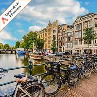 Kurzreise Holland Amsterdam 3 Tage A&O Hotel 2 Personen mit Frühstück Gutschein