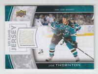(68922) 2013-14 UPPER DECK GAME JERSEY JOE THORNTON #GJ-JT
