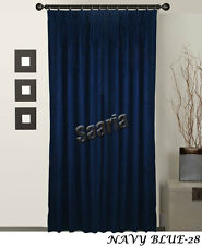 "Saaria Pinch Pleated Curtains Home Decor Theater & Stage Backdrops 54""Wx108""H"