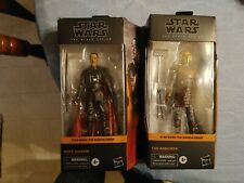 Lot Of 2 Star Wars The Black Series Figures Moff Gideon(damaged)&The Armorer