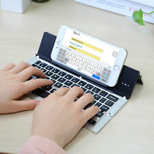 Portable Wireless Bluetooth Keyboard Foldable For iPhone Tablet Ipad Android IOS