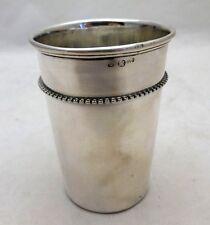 Antique Sterling Solid Silver Austria Beaker c1870 (687-D-OGY)